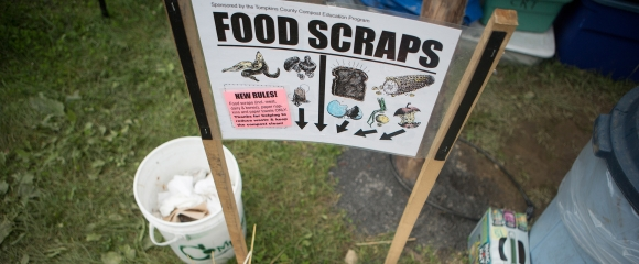 Composting at an event