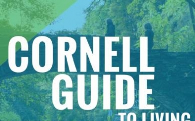 Cover photo of the Cornell Guide to Living Sustainably