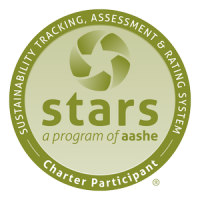 Logo for the AASHE STARS Sustainability Reporting Program