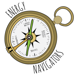 Energy Navigator graphic (compass)