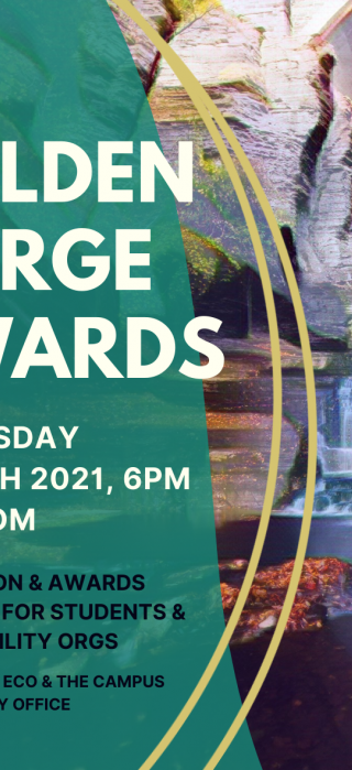 2019 Golden Gorge Awards banner