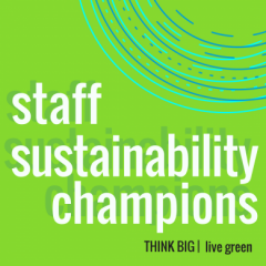 sustainability champions at Cornell