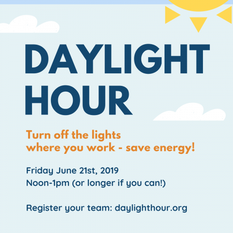Daylight hour poster