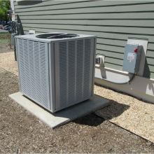 Heating and cooling  system.